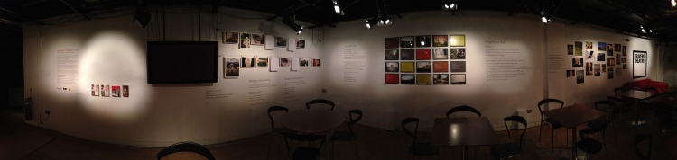 INSIDE/OUT exhibition, The Traverse Theatre, December 2014